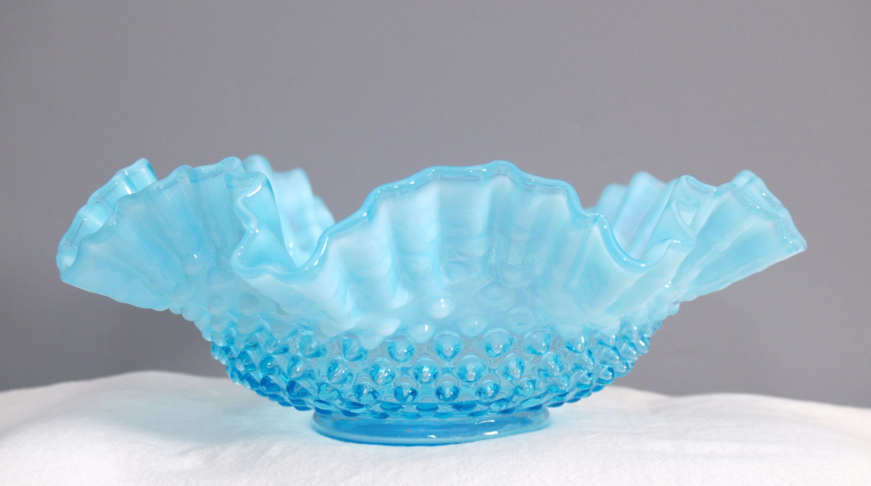 waterford crystal bud vase of 37 fenton blue glass vase the weekly world within fenton blue opalescent bowl fenton pinterest