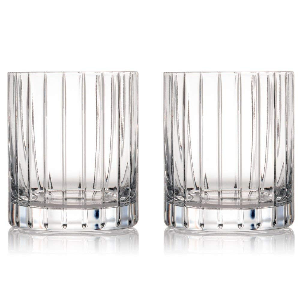 waterford crystal flower vase of amazon com rogaska crystal avenue double old fashioned glass pair for amazon com rogaska crystal avenue double old fashioned glass pair old fashioned glasses