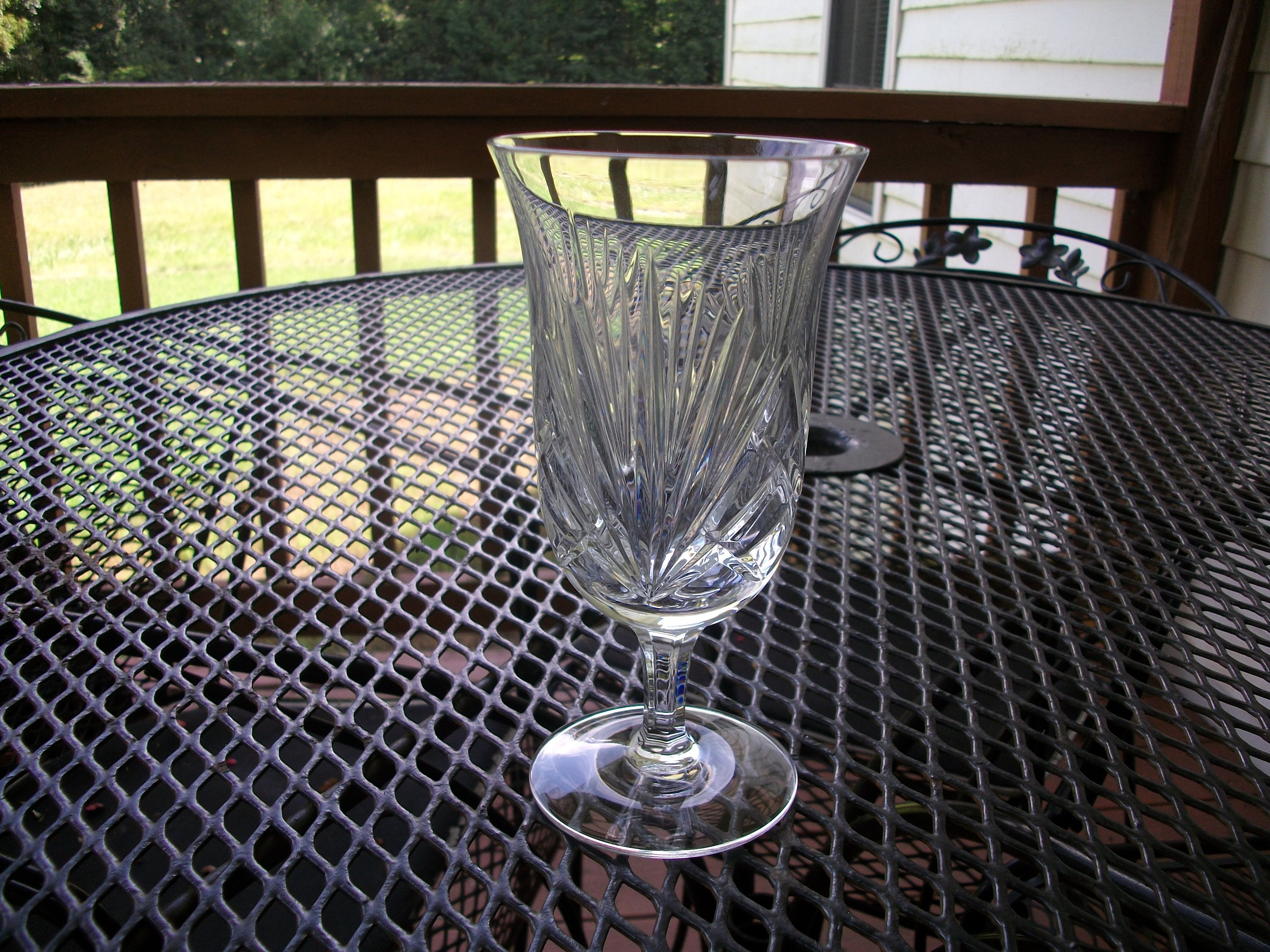"Waterford Crystal Lismore Vase Of Gorham Cherrywood Ice Tea Glass Goblet Etsy with Regard to DŸ""Žzoom"