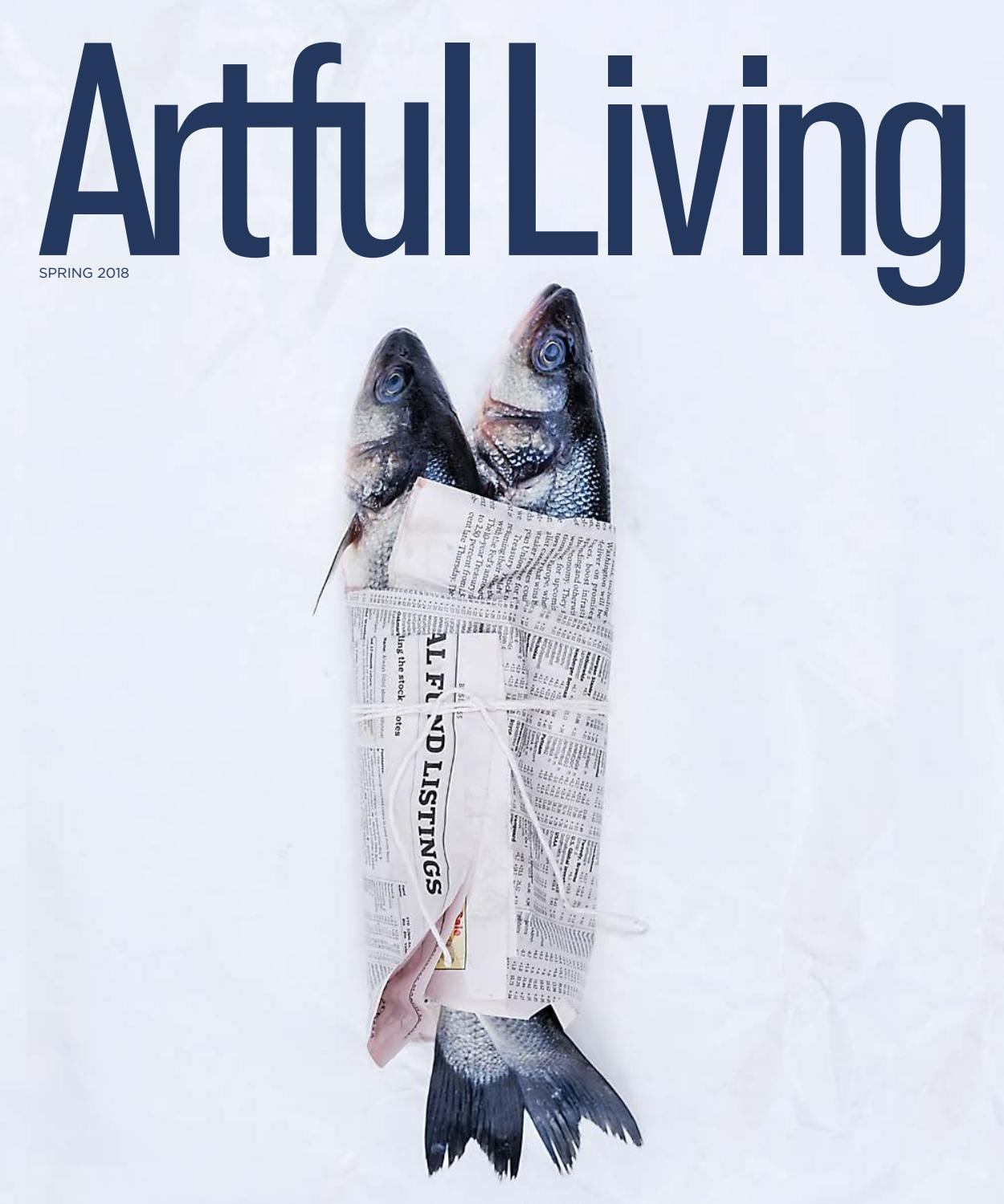 waterford crystal pineapple vase of artful living magazine spring 2018 by artful living magazine issuu in page 1