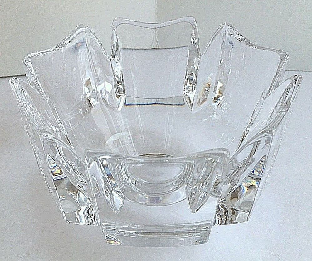 waterford crystal pineapple vase of orrefors corona crystal bowl 5 5 diameter lars hellsten signed inside orrefors corona crystal bowl 5 5 diameter lars hellsten signed numbered euc