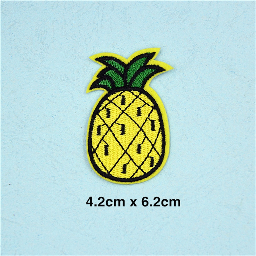 waterford crystal pineapple vase of pf fine stripe fruit patch pineapple embroidery patch for clothing throughout pf fine stripe fruit patch pineapple embroidery patch for clothing applique accessories tops bag iron on patches stickers tb211 us234