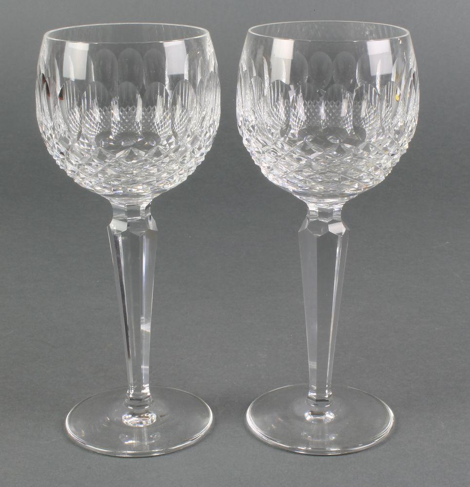 waterford crystal vase patterns of waterford crystal colleen pattern hock glasses 7 1 2 favorite intended for waterford crystal colleen pattern hock glasses 7 1 2
