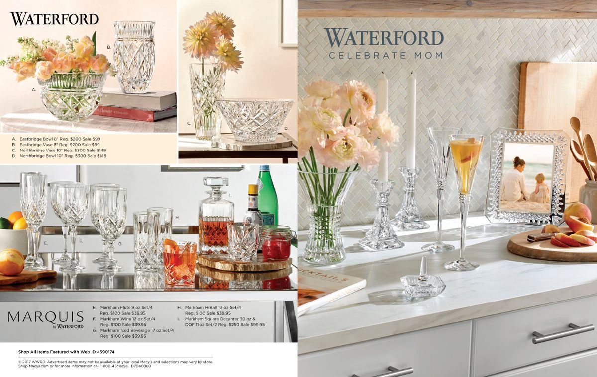 Waterford Eastbridge Vase Of Christopher White Whiteslate Inside Christopherwhite Waterford Macys Spring2017 1