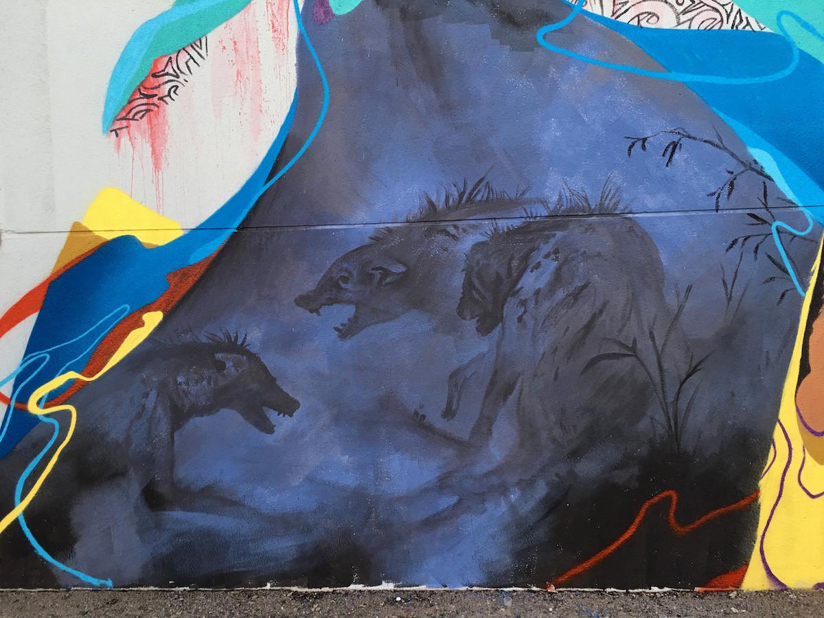 waterford evolution aqua haze vase of animals with regard to kraser surreal hyena street art in spain