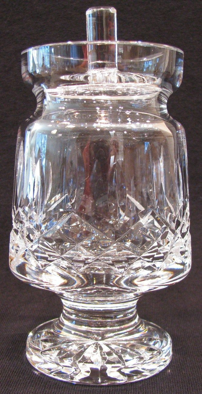 waterford lismore candy bud vase of 87 best glassies ireland waterford crystal images on pinterest with waterford crystal footed honey jam jar lismore lid