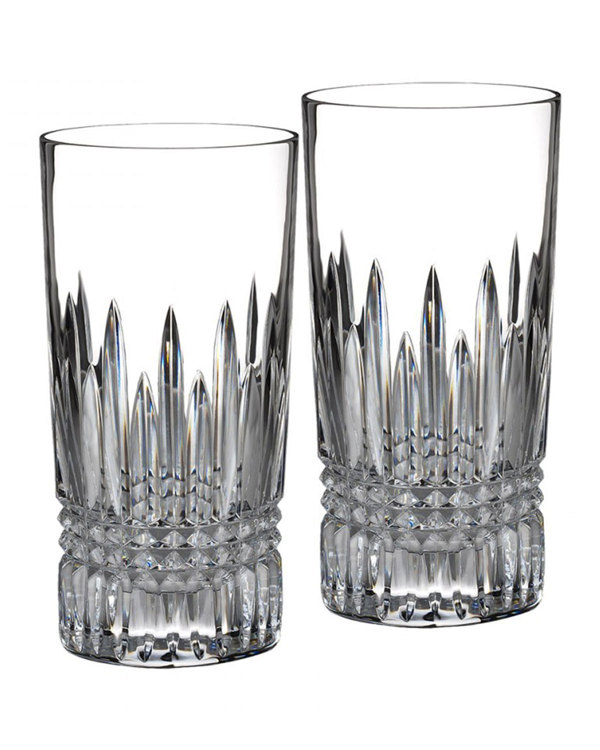 waterford lismore diamond vase of galway crystal longford set of 2 tumblers d o f for waterford crystal lismore diamond highball set of 2