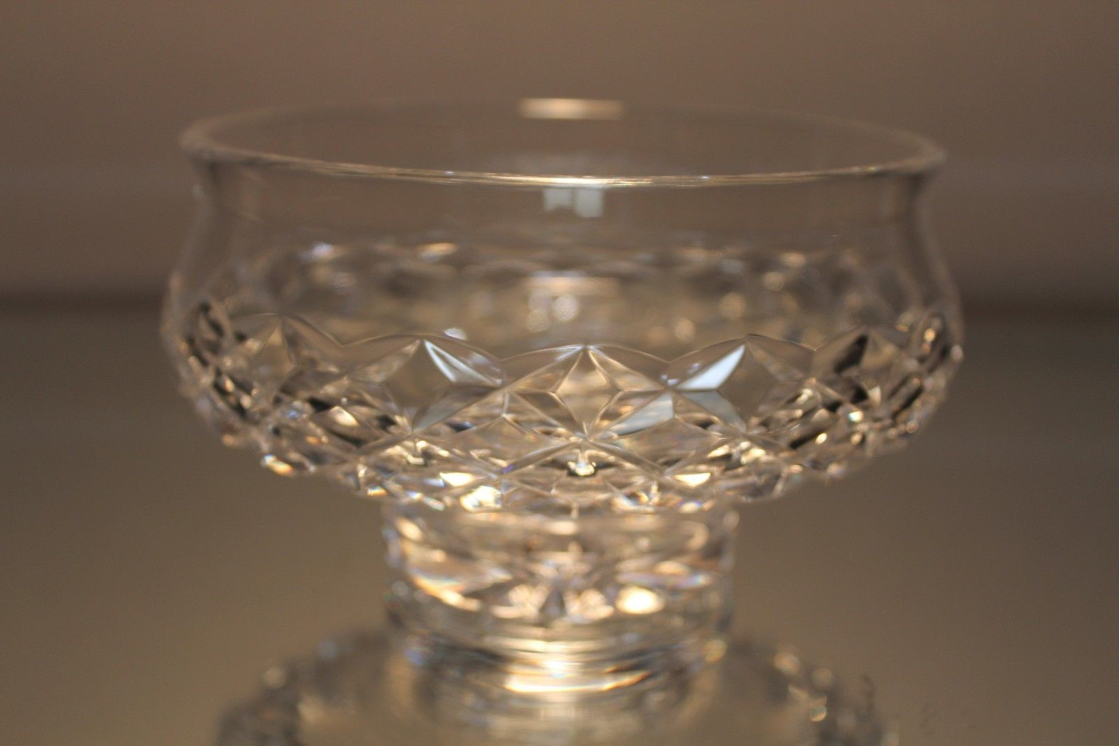 waterford lismore sugar bud vase of waterford crystal alana pattern small footed candy dish bowl regarding 1 of 5 see more