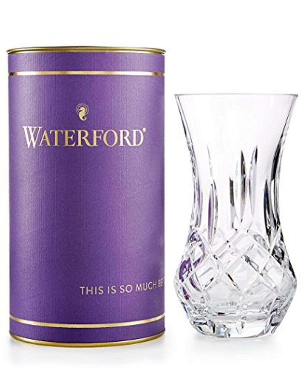 waterford lismore vase 8 of amazon com waterford giftology lismore bon bon 6 vase home kitchen in 619tf7ex ml sl1225