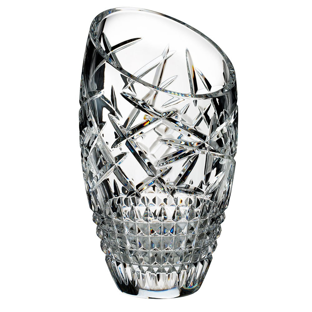 Waterford Markham Vase Of Waterford Crystal Fleurology Cleo Slant Vase 35cm Waterforda Crystal Inside Fleurology by Jeff Leatham Cleo Slant Vase 35cm