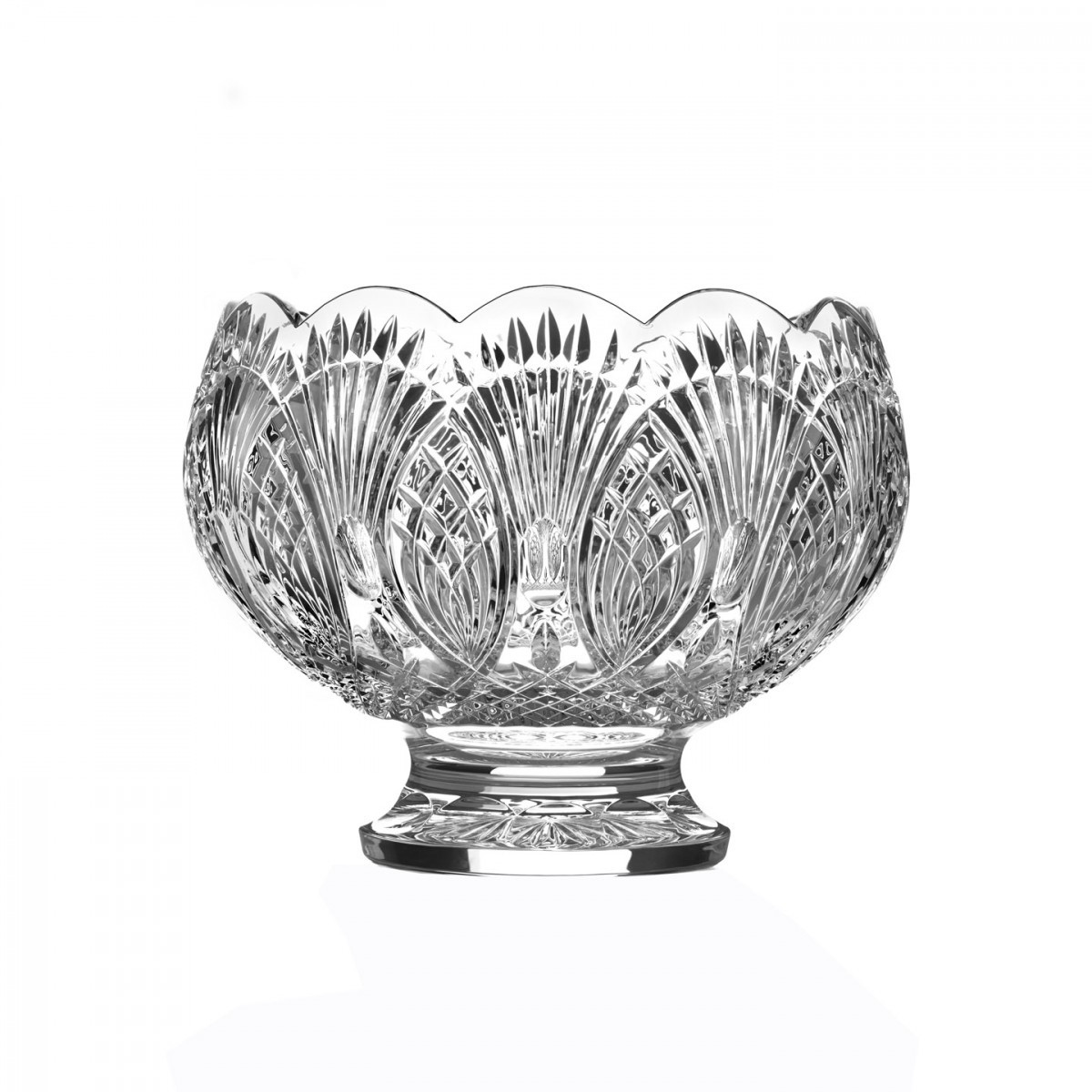 Waterford Pineapple Vase Of Circle Of Friends 12in Punch Bowl House Of Waterford Crystal Ca In Circle Of Friends 12in Punch Bowl