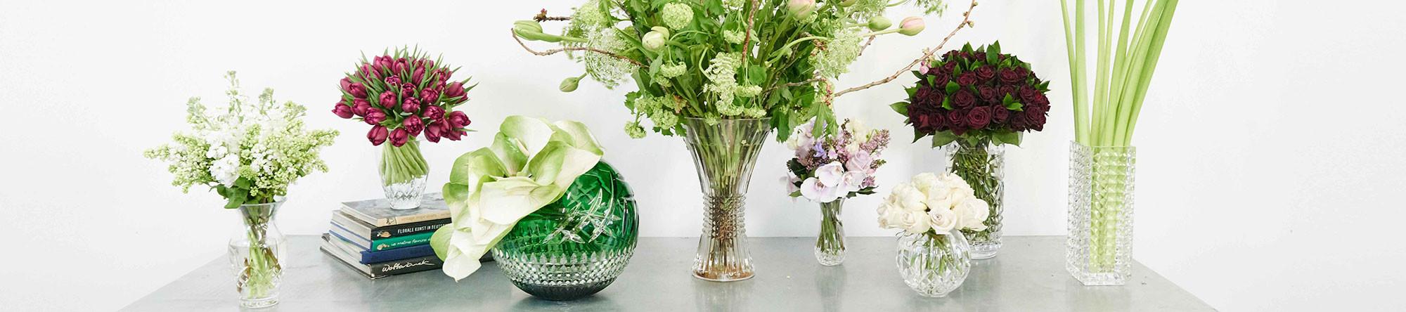 waterford pineapple vase of crystal vases glass flower vases waterforda crystal inside wf vases banner