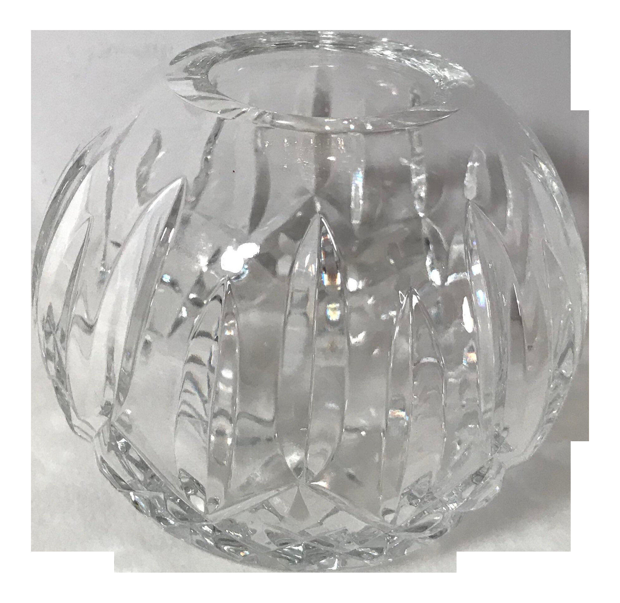 waterford rose bowl vase of 20th century traditional waterford crystal rose bowl chairish within 20th century traditional waterford crystal rose bowl 2412