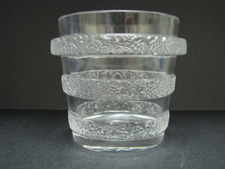 """waterford thistle vase of lalique france lave raisins riquewihr 11955 vase vintage etsy for dŸ""""Žpowia™ksz"""