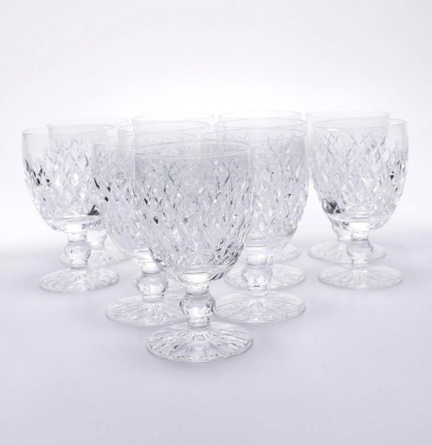 waterford vase patterns of waterford crystal boyne goblets waterford crystal and geometric with waterford crystal boyne goblets