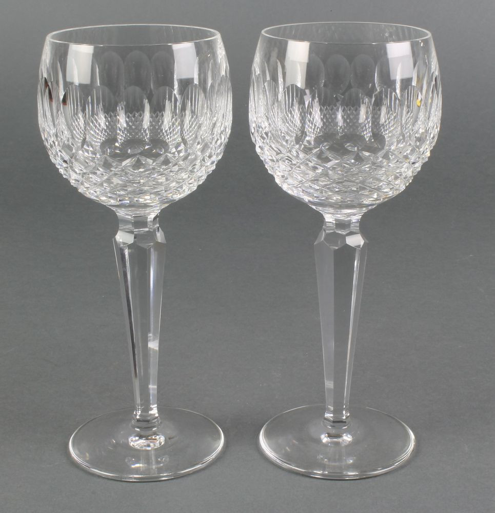 waterford vase patterns of waterford crystal colleen pattern hock glasses 7 1 2 favorite with waterford crystal colleen pattern hock glasses 7 1 2