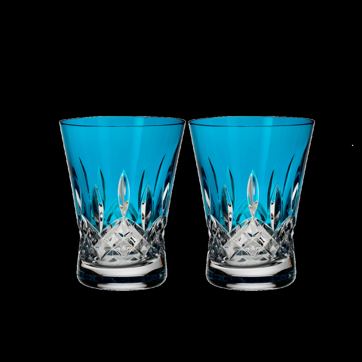 waterford vases discontinued of lismore pops aqua double old fashioned pair discontinued in lismore pops aqua double old fashioned pair discontinued