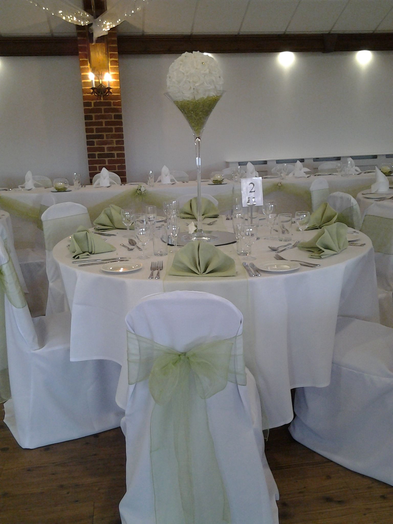 wedding cake vases of rose ball martini vase with coloured napkins available to hire in rose ball martini vase with coloured napkins available to hire