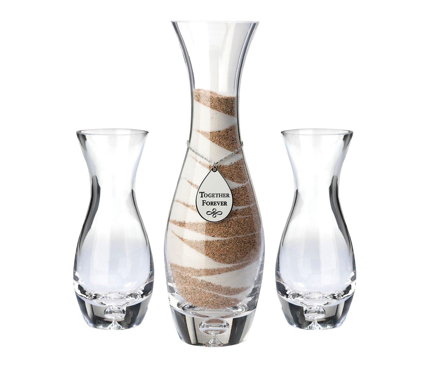 wedding sand vase sets of sand ceremony vase amazon com inside lillian rose wedding ceremony unity sand vases together forever
