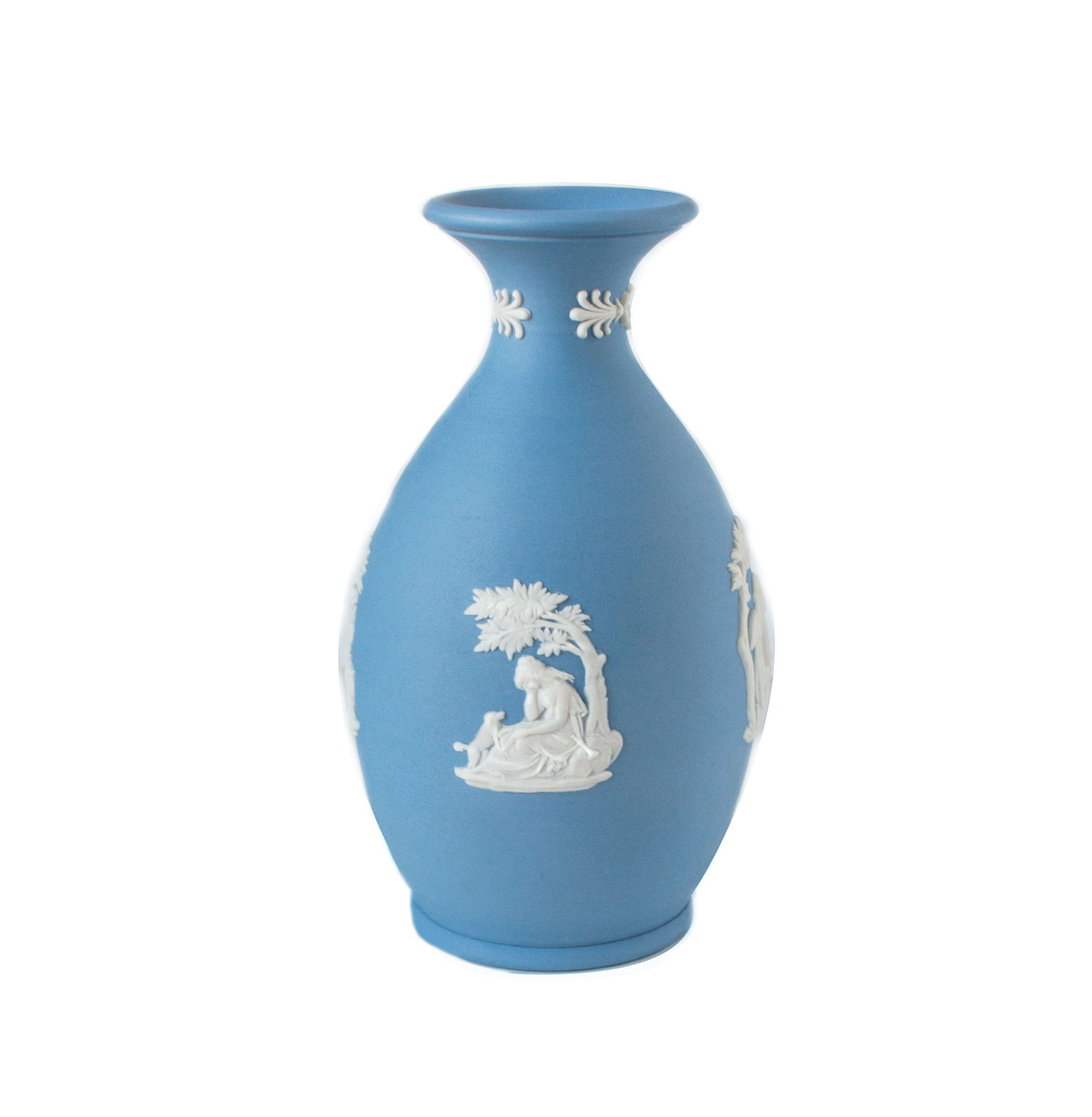 "wedgwood blue jasperware vase of wedgwood blue jasperware poor maria vase 1960s wedgwood etsy within dŸ""Žpowia™ksz"