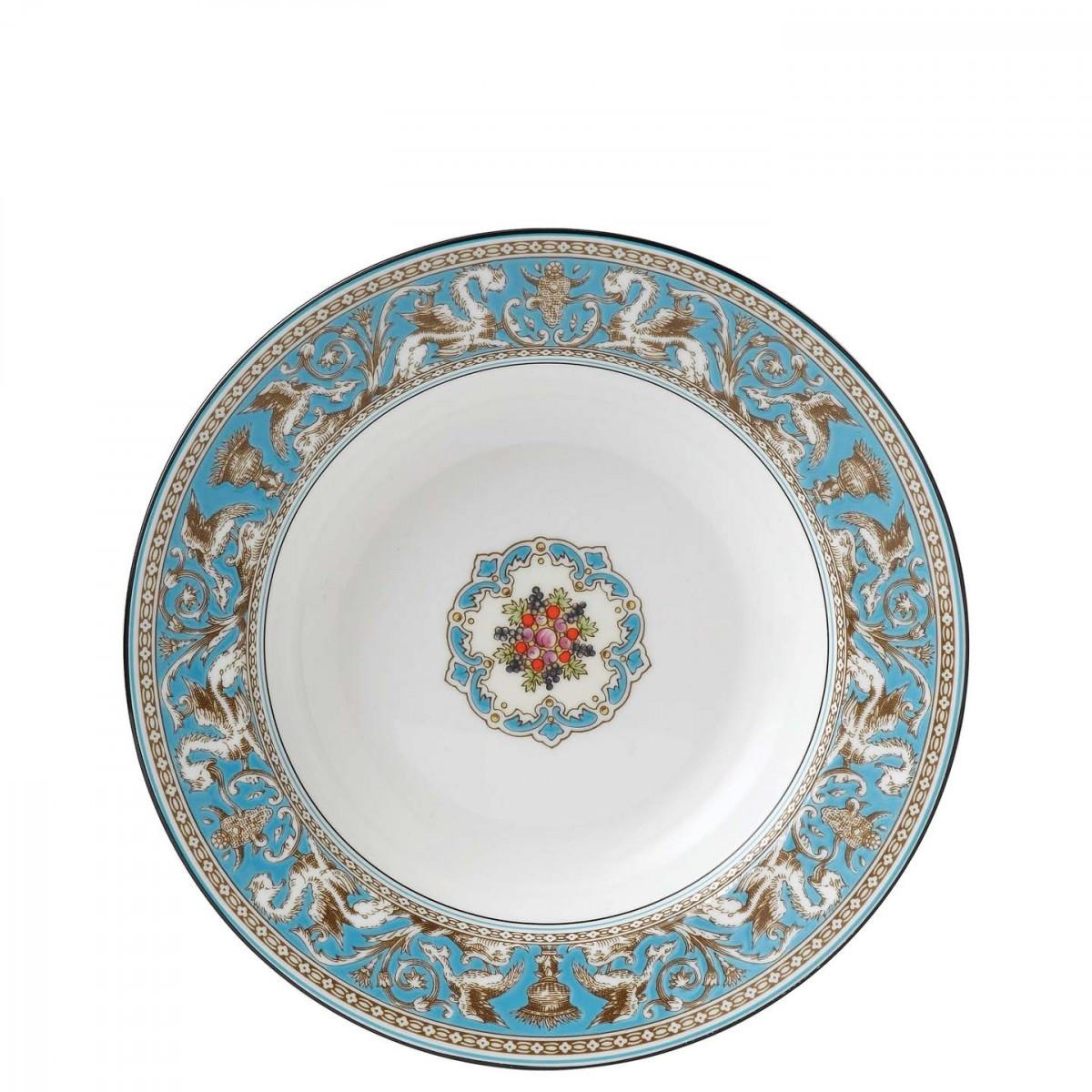 wedgwood bone china wild strawberry vase of wedgwood florentine turquoise soup plate 23cm wedgwooda uk pertaining to florentine turquoise soup plate 23cm