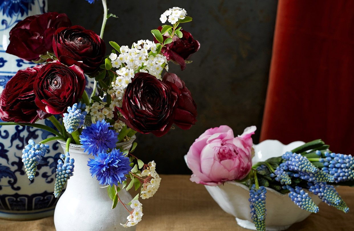 What is A Rose Bowl Vase Of A Floral Arrangement Inspired by A Sargent Masterpiece Wsj for Od Bb907 Flower Gr 20140417122329