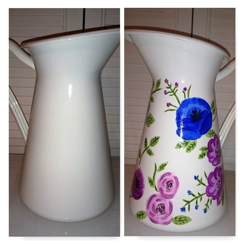 24 Best White Ceramic Jug Vase 2021 free download white ceramic jug vase of drab to fab ikea jug with pictures regarding picture of drab to fab ikea jug