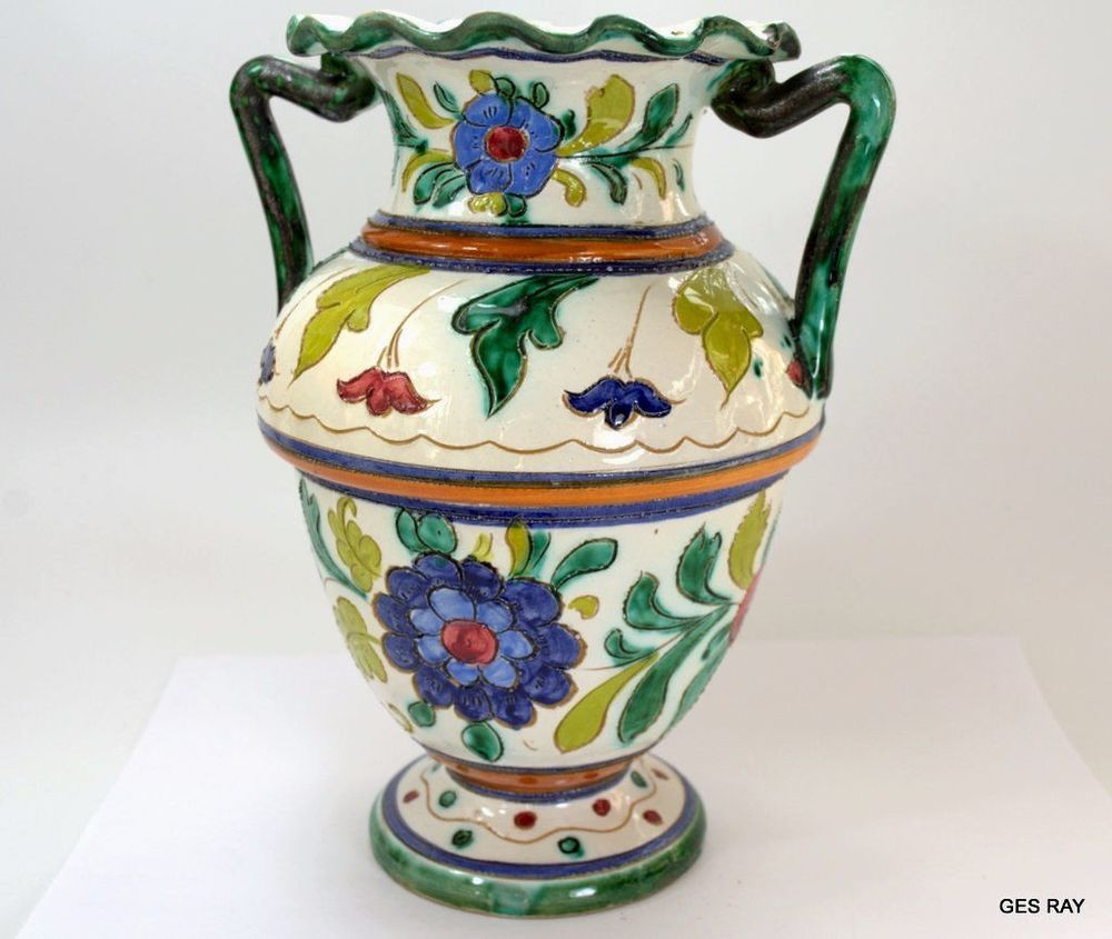white ceramic jug vase of old antique italian pottery faience ornate majolica jug vase intended for old antique italian pottery faience ornate majolica jug vase sagaofluck italian