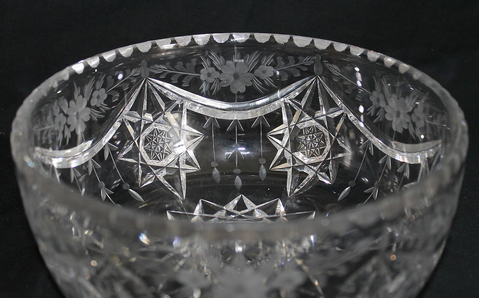 white glass bowl vase of hawkes co abcg cut glass crystal bowl pinterest cut glass in hawkes co abcg cut glass crystal bowl ebay