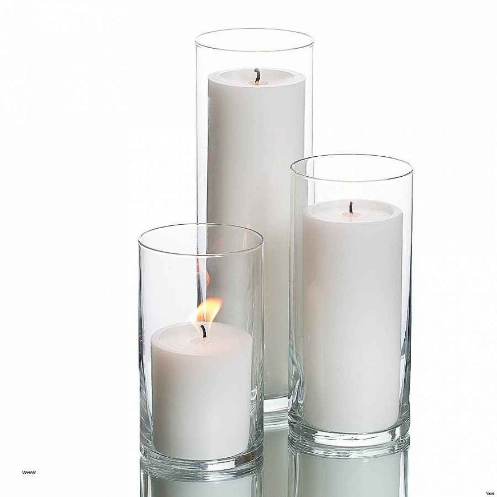White Glass Cylinder Vase Of Candle Holder Clear Glass Candle Holders Bulk Luxury Vases Pillar within 300 X 300 150 X 150 Glass Cylinder
