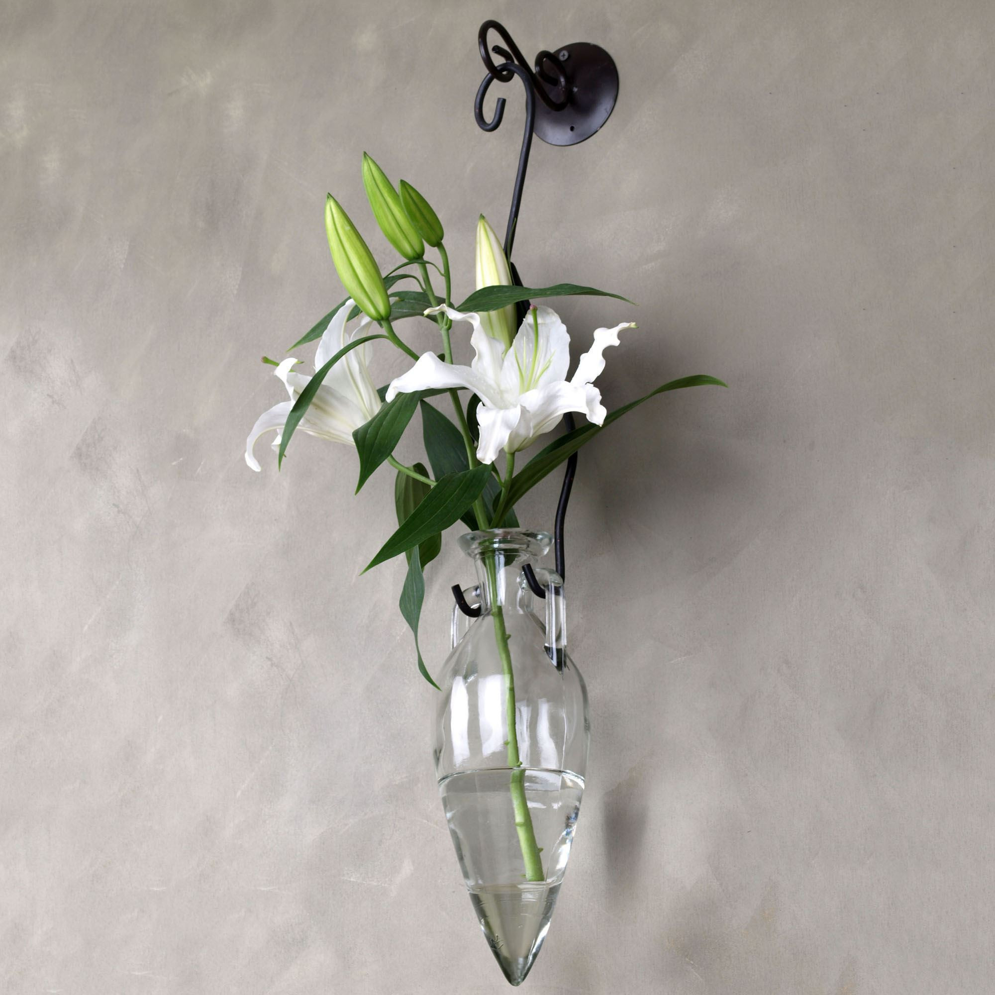 25 Stunning White Glass Flower Vase