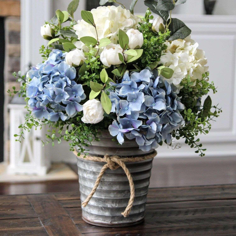 white milk glass flower vase of awesome blue hydrangea in vase bogekompresorturkiye com pertaining to blue hydrangea in vase awesome stunning blue and creamy white hydrangea centerpiece scheme of awesome blue