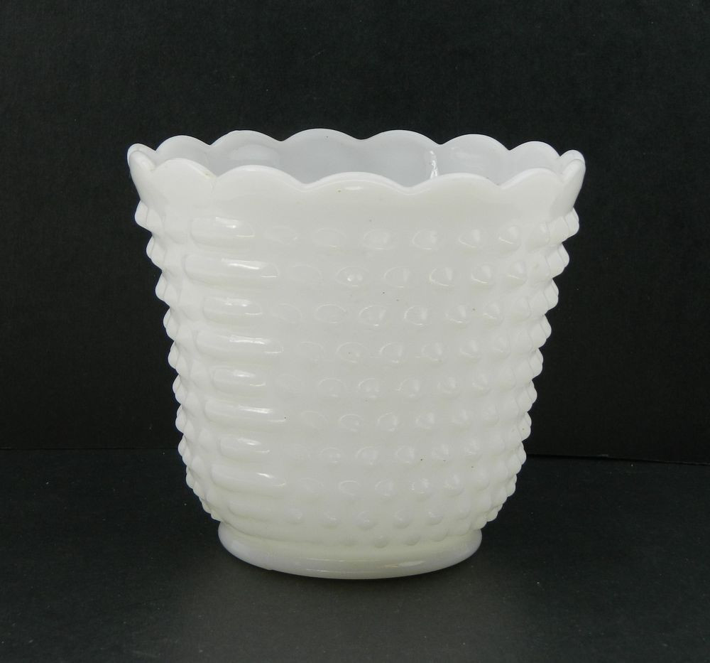 white milk glass hobnail vase of fire king anchor hocking oven ware white milk glass hobnail ladder for fire king anchor hocking oven ware white milk glass hobnail ladder vase bowl fireking