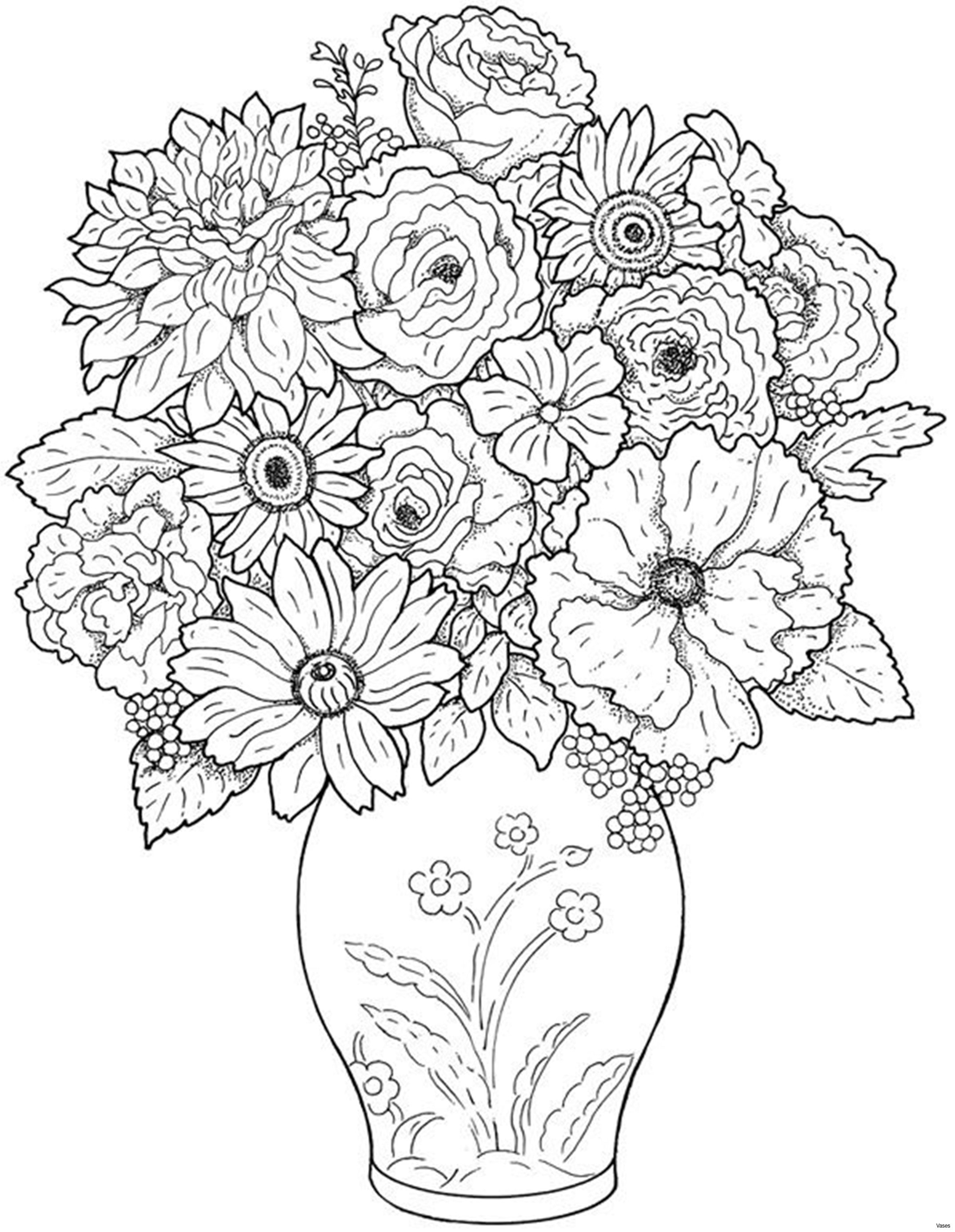 white vase with holes of 3 flower photos beautiful cool vases flower vase coloring page pages inside download image