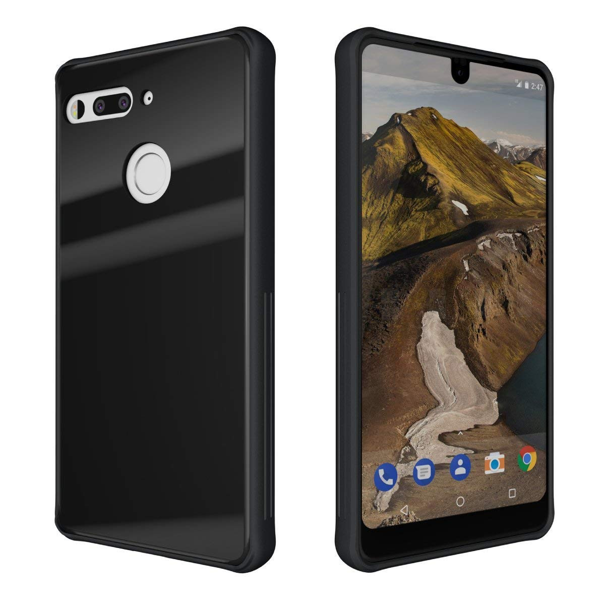 wholesale glass vases international coupon code of amazon com essential phone ph 1 case tudia ceramic feel with regard to amazon com essential phone ph 1 case tudia ceramic feel lightweight glost tpu bumper shock absorption cover featuring tempered glass back panel for