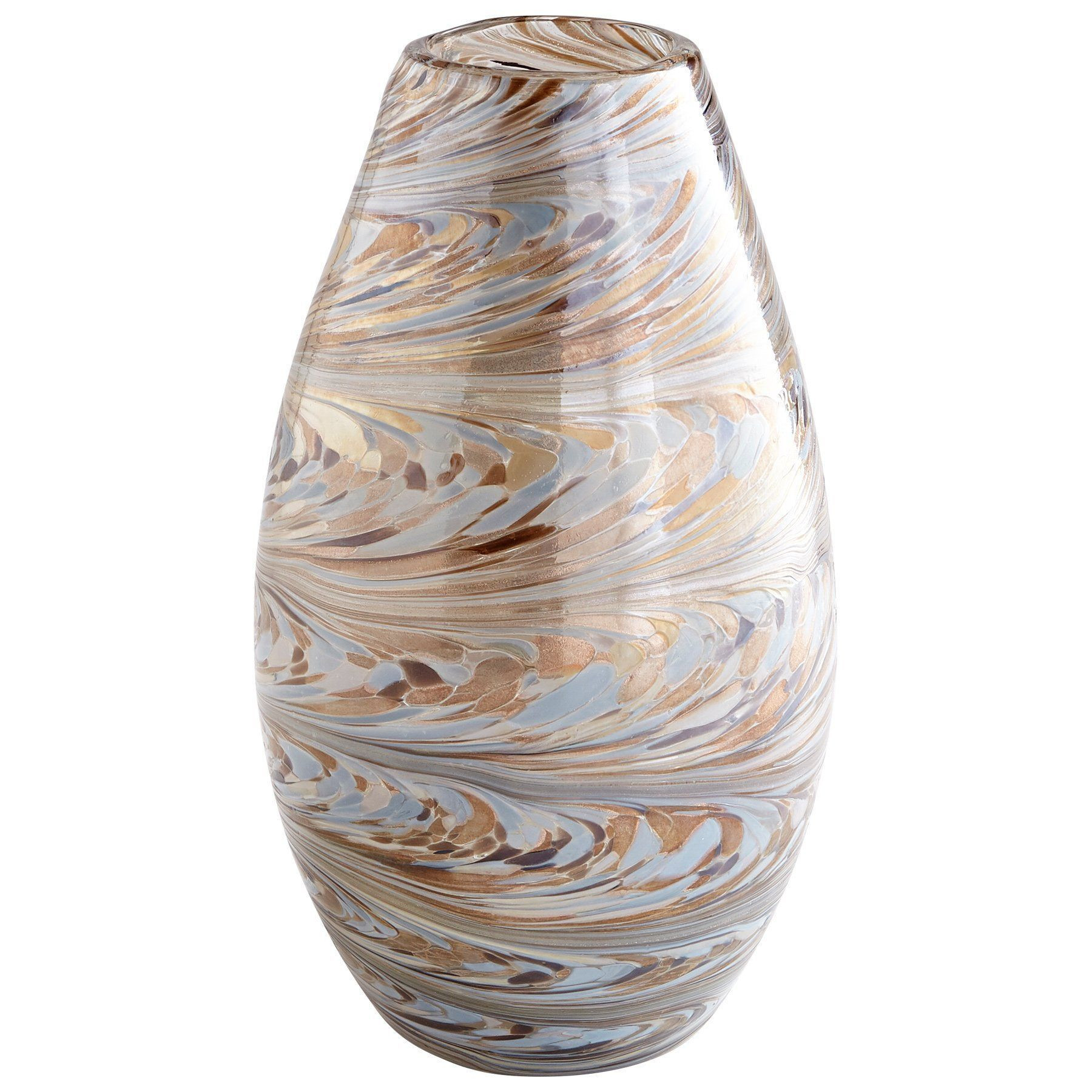wholesale glass vases los angeles ca of 44 gold and silver vase the weekly world with caravelas small gold silver metallic sand swirl art glass vase by