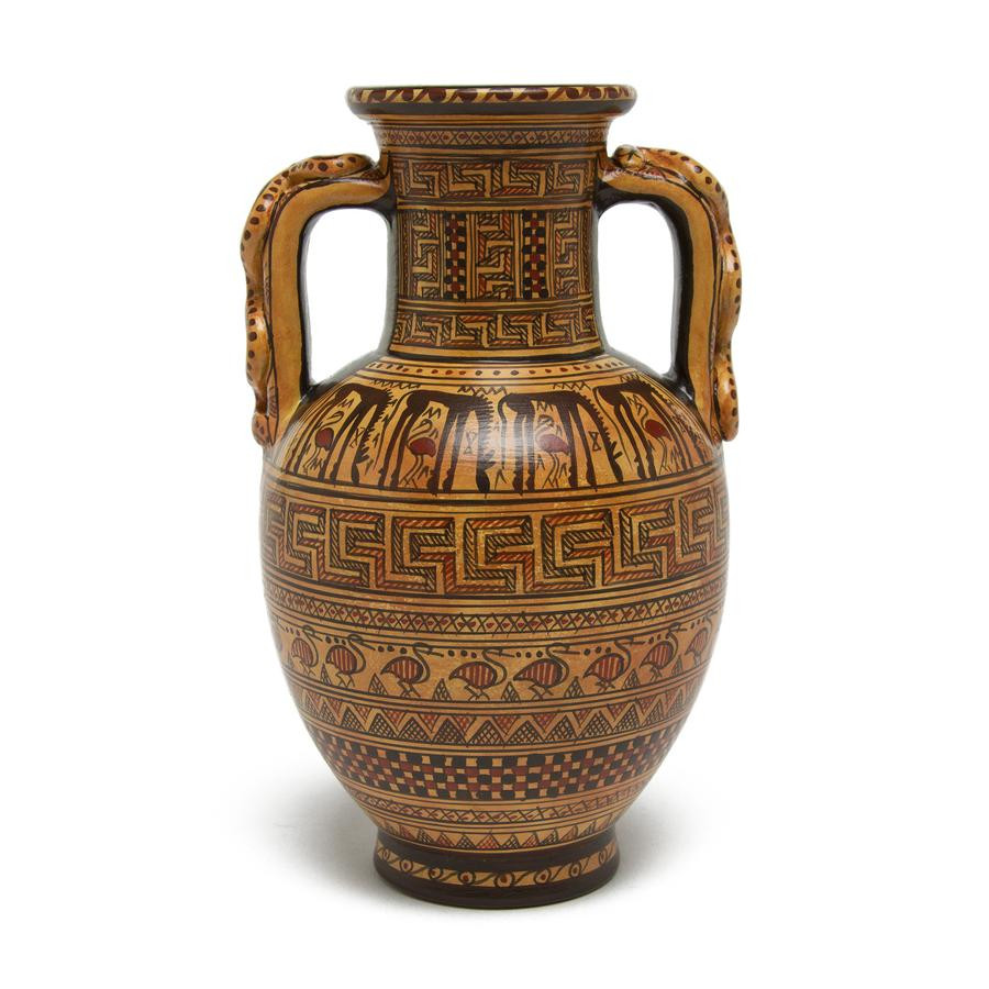 wholesale glass vases los angeles ca of home decor page 2 the getty store with regard to greek amphora vase geometric pattern