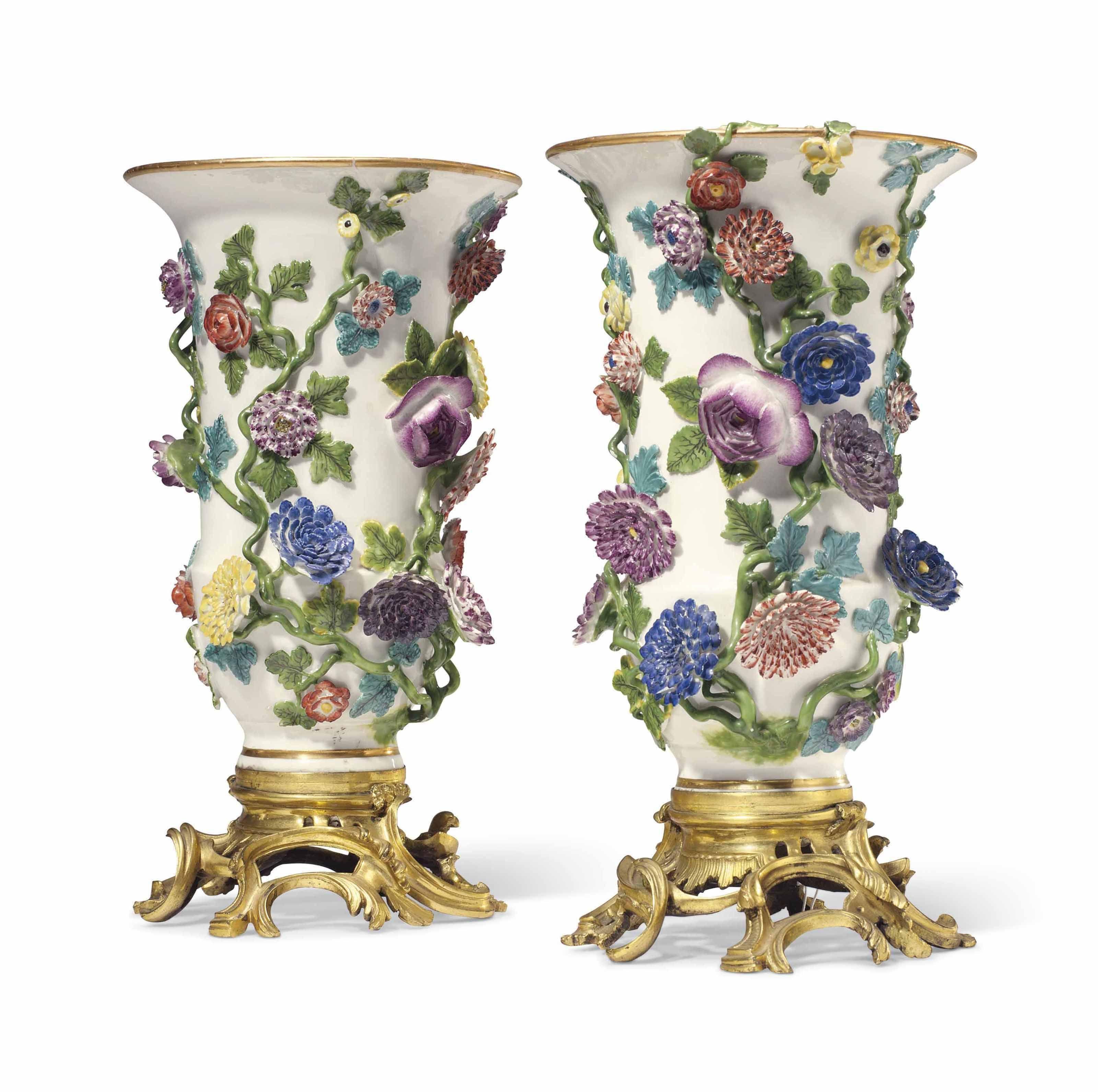 wholesale urn vases of 23 crystal beaded vase the weekly world inside a pair of ormolu mounted meissen porcelain flower encrusted vases