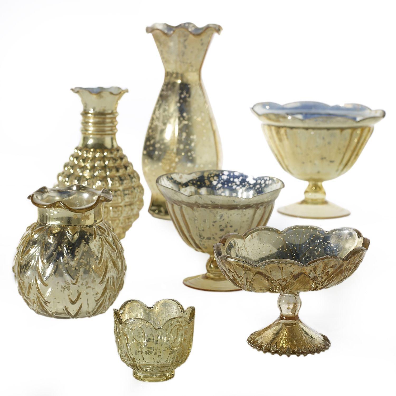 Wide Glass Vase Of Gold Mercury Glass Vases Best Of Gold Accent Decor Elegant Clocks Regarding Gold Mercury Glass Vases Best Of Gold Accent Decor Elegant Clocks with Gold Accent Decor Elegant