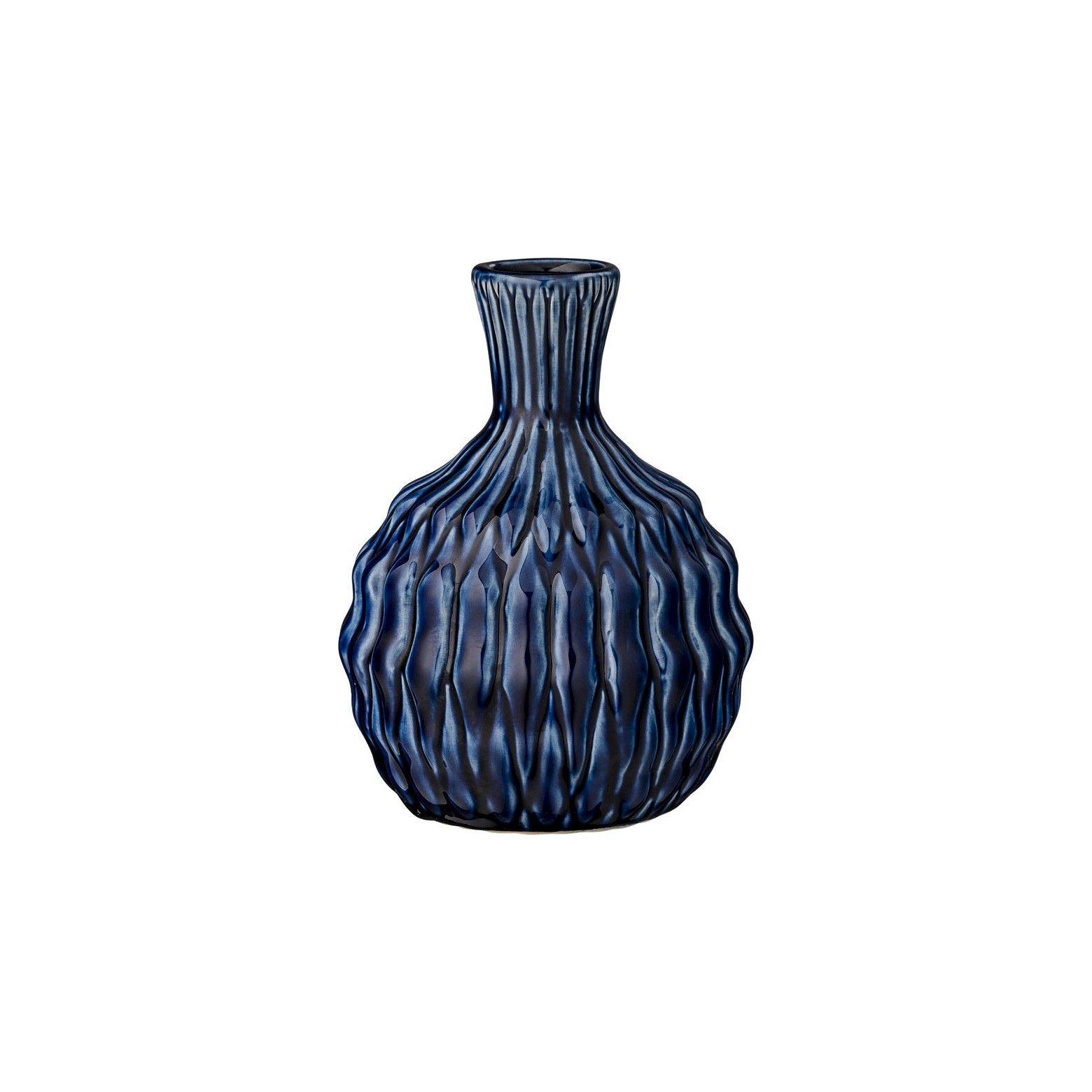 wide mouth vase of ceramic vase navy blue 6 3r studios ceramic vase navy and throughout ceramic vase navy blue 6 3r studios