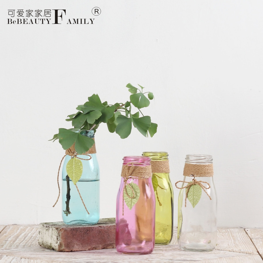 wide neck clear glass vase of china flower glass bottle china flower glass bottle shopping guide with regard to get quotations a· lovely home fresh four color mini small glass bottle small glass bottles of water culture bottle