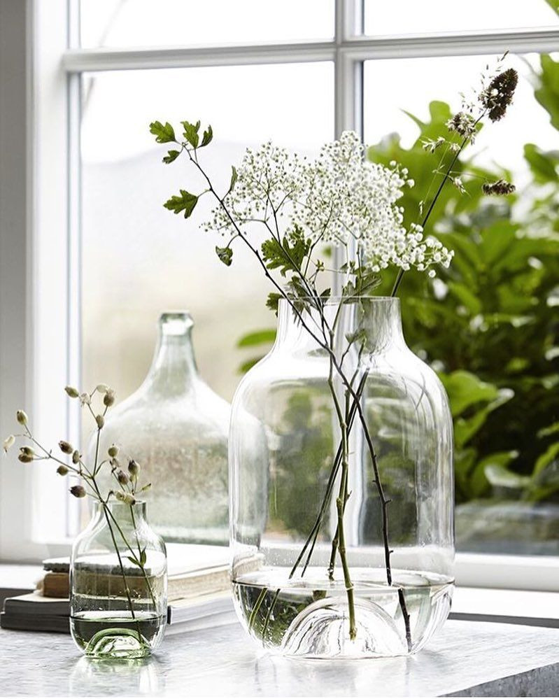window sill vases of laat de lente maar in je huis komen deze gave house doctor vazen inside in my opinion you cant go wrong with a glass vase