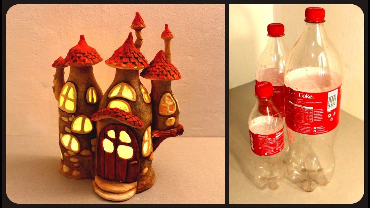 wine bottle vase diy of adiy fairy house lamp using coke plastic bottlesa youtube pertaining to adiy fairy house lamp using coke plastic bottlesa