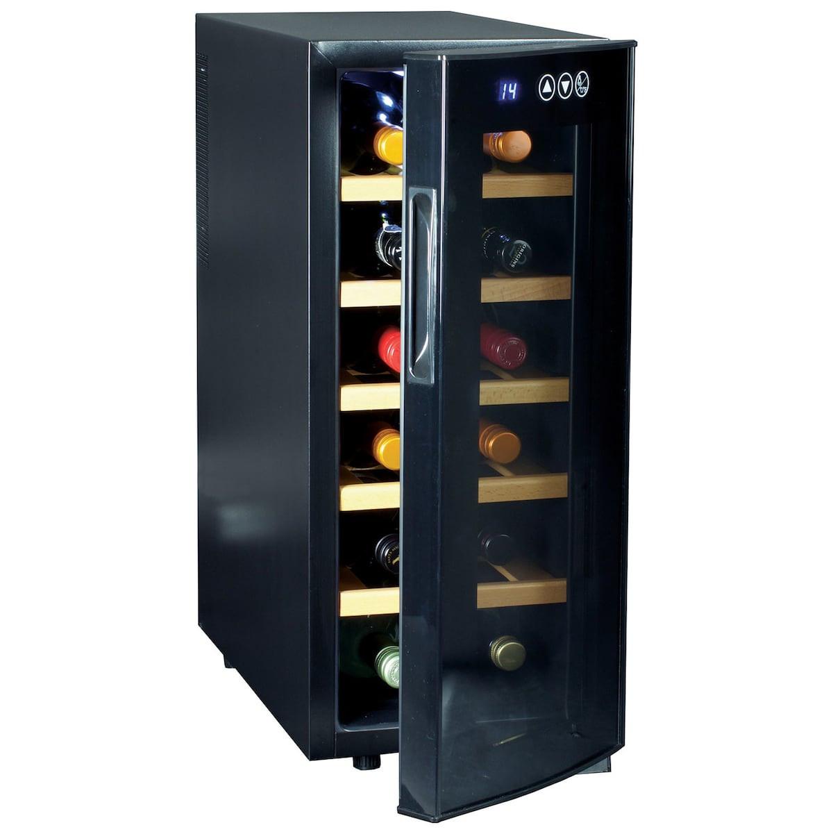 wine bottle wall vase of glass bottle at linen chest intended for k wc 242856 12 bottle wine cooler open resize