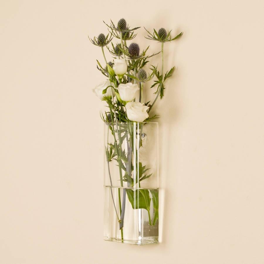wine glass flower vase of flower wall vase elegant rectangular wall mounted glass vase by for flower wall vase elegant rectangular wall mounted glass vase by dibor of flower wall vase elegant