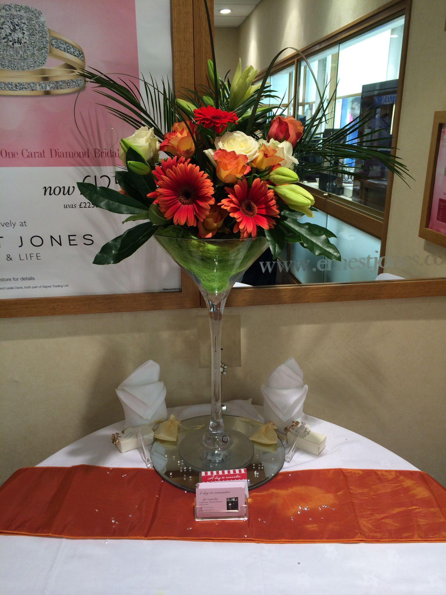 Wine Gl Vase Flower Arrangement And Cellar Image