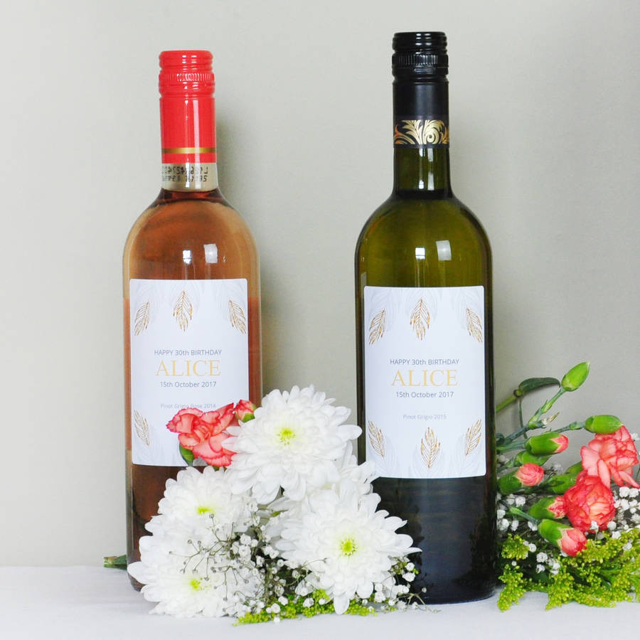 wine vase name of personalised pinot grigio wine lovers double gift pack by bottle with regard to personalised pinot grigio wines