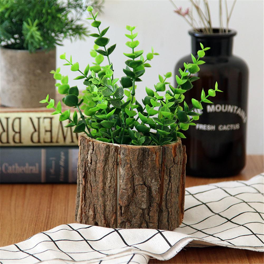 wood bark vases of home decor vase wooden vases for flower gifts pastoral style wedding inside desktop forest style natural wooden small flower pots with bark for succulents plant ornaments