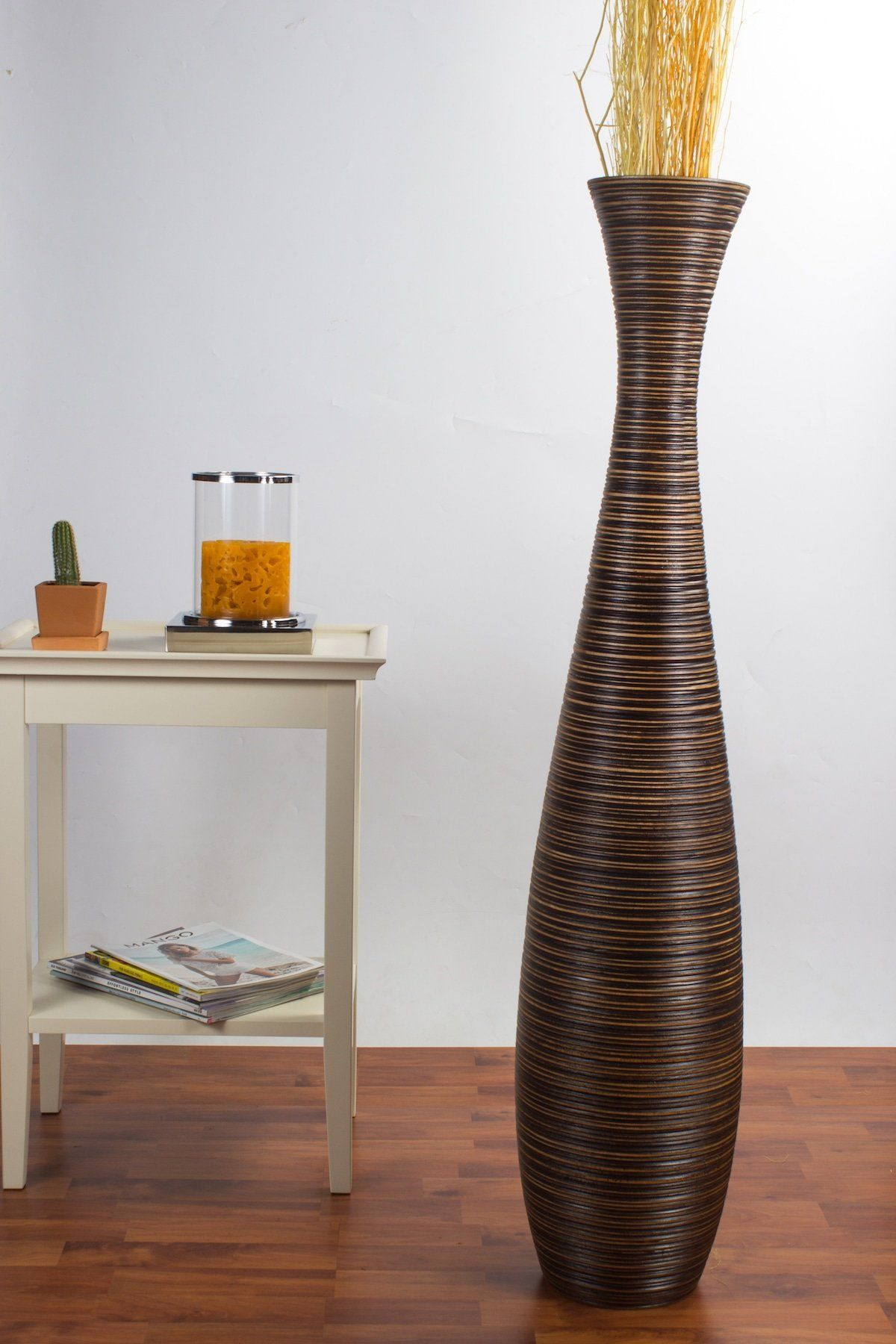 wooden vases and bowls of tall vase with sticks new tall floor vase 44 inches wood brown regarding tall vase with sticks new tall floor vase 44 inches wood brown unique and distinguished