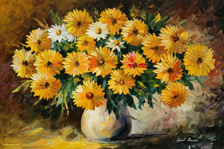 yellow flowers in vase painting of 20 new wallpaper for desktop of flower amazing wallpaper throughout painting wallpaper new how to cut flowers last longer in a vaseh vases vase vasei 0d